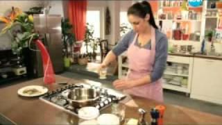Ципура със салата от артишок