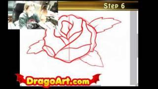 Как се прави татуировка роза