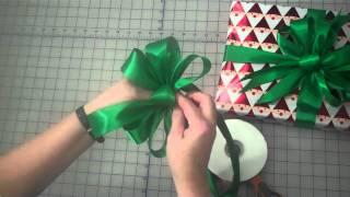 Как се прави тройна панделка за подаръци