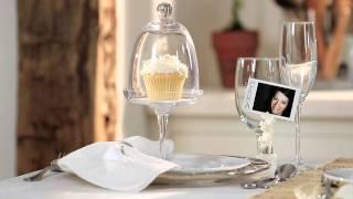 Няколко идеи за красива маса с бял сервиз за хранене