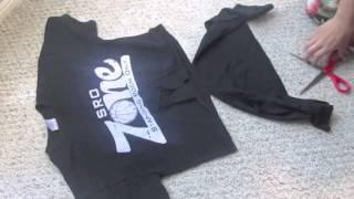 Как да си направим блузка, която се връзва отпред