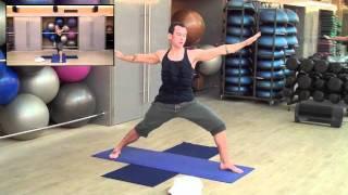 Интензивна йога за отслабване