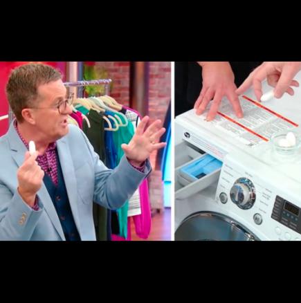 Блестящ трик за почистване на пералнята