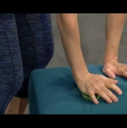 Релакс напрегнати раменете и врат