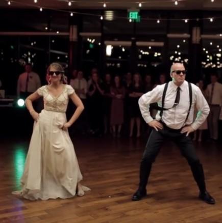 Уникален сватбен танц