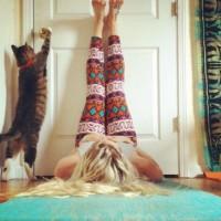 Йога за отпочиване на краката