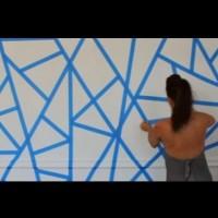 Интересен начин на боядисване