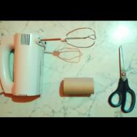 Постави ролка от тоалетна хартия на миксера - получи нещо гениално