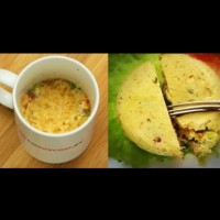 Омлет в чашка на микровълнова - лесна и бърза закуска