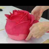 Как да си направим торта във формата на роза