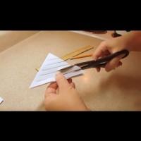Как да си направим красива снежинка от хартия