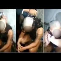 Бандит обръсна главата и веждите за наказание
