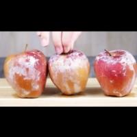 Как да разберем дали ябълките са обработвани с восък и да го премахнем