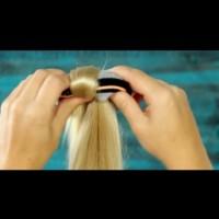 Как да си направим лесен и стегнат кок с чорап:
