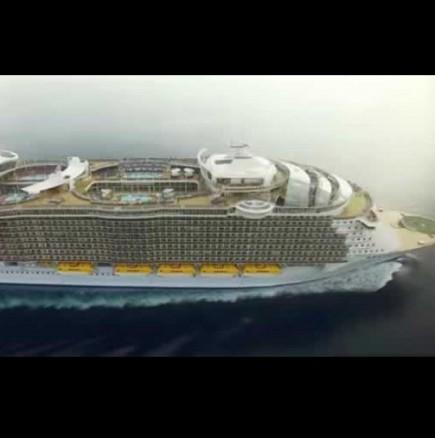 Вижте най-големият круизен кораб, който е 5 пъти по-голям от Титаник!