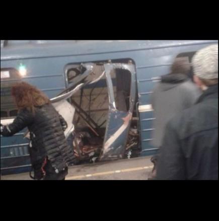 Взрив в метрото в Русия