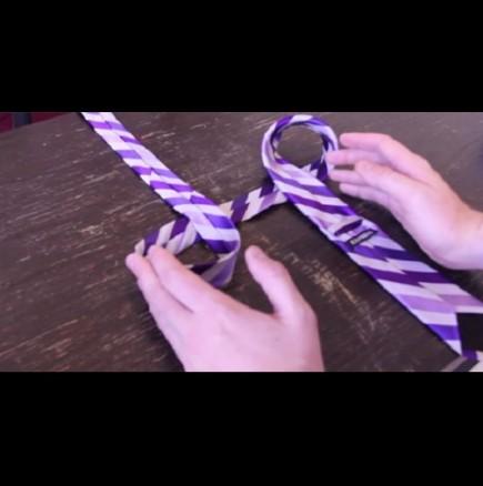 Как да вържем вратовръзка за 10 секунди