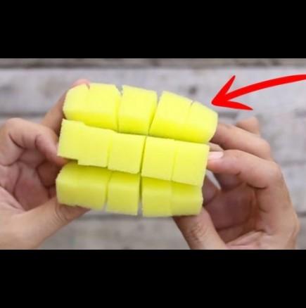 Как се почиства лесно с гъбичка
