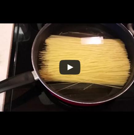 Как е правилно да се варят спагети