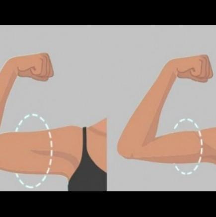 Упражнения за отслабване и стягане на ръцете