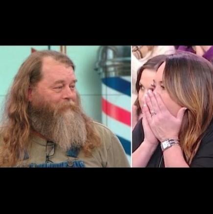 Трансформация, която трябва да видите: Обръснал брадата си след 20 години