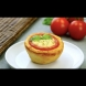 Пица-кошнички от домати - рецепта с видео