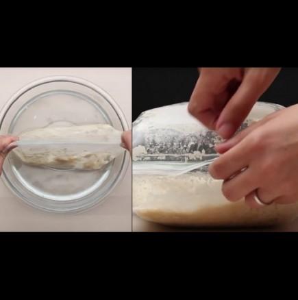 Фантастичен френски хляб без месене