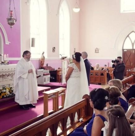 Сватбена церемония с изненада