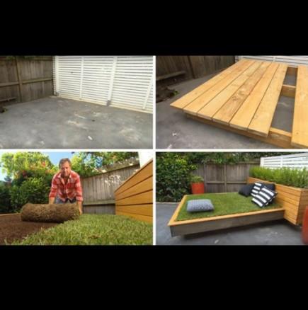 Как да си направим място за почивка в двора