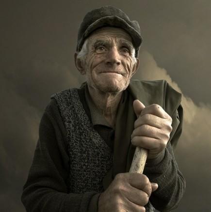 Един старец в България как живее