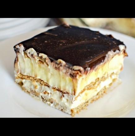 Еклерова торта без печене