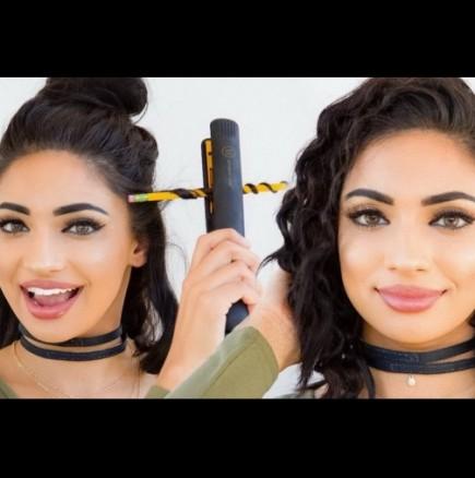 Как лесно да накъдрим косата си с молив!