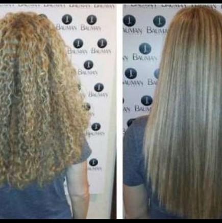 Как  да си изправим косата лесно