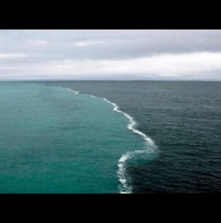 Мястото, където се срещат две морета
