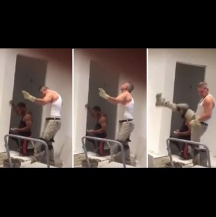Ето как строителите правят ремонт