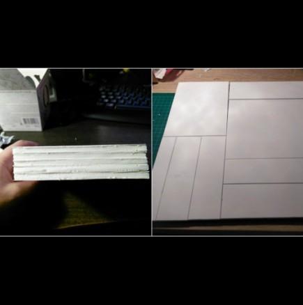 Как да си направим светеща картина от картон