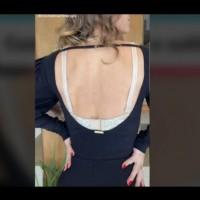 Как да носиш рокля с гол гръб, без да се види сутиенът: