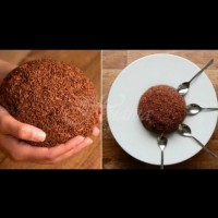 Огромно шоколадово топче