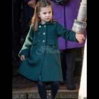 Принцеса Шарлот получи букет от обожател