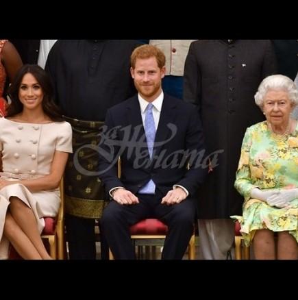 Принц Хари отказа да хване за ръка Меган на официално мероприятие