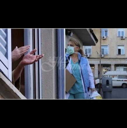 България аплодира медиците, борещи се с коронавируса