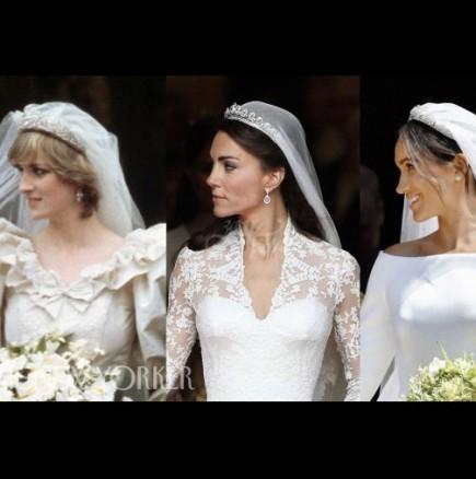 Кралските сватби на Диана, Кейт и Меган
