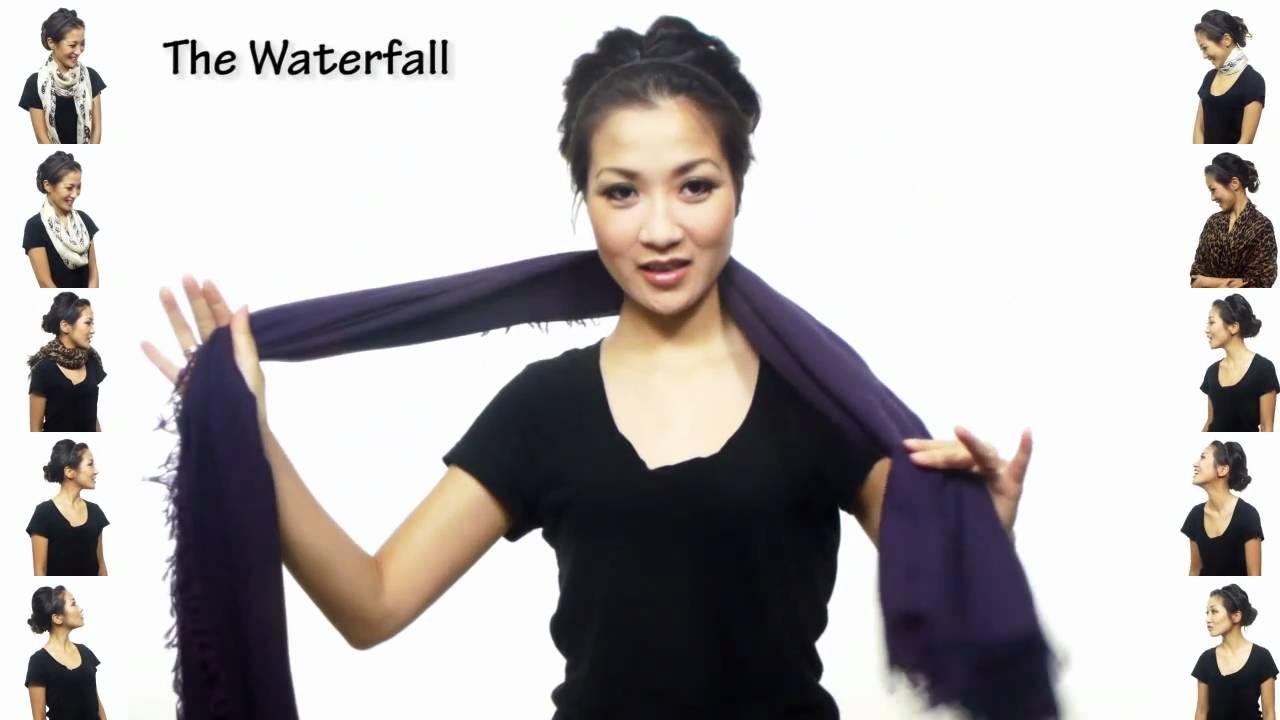 25 начина за връзване на шал за 4 минути Видео