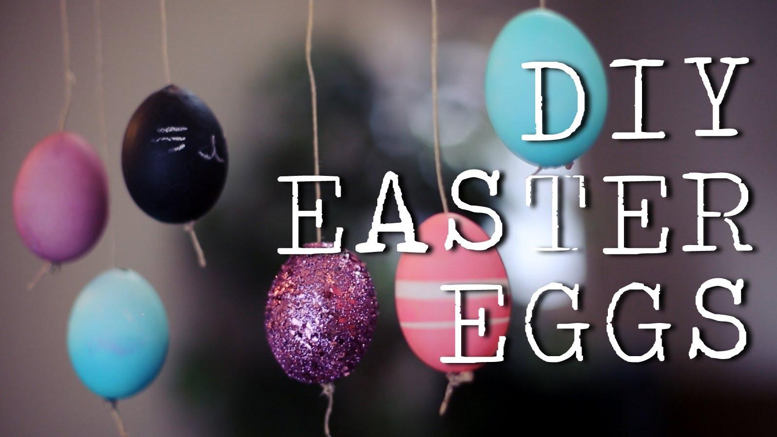 Боядисване на оригинални яйца за Великден