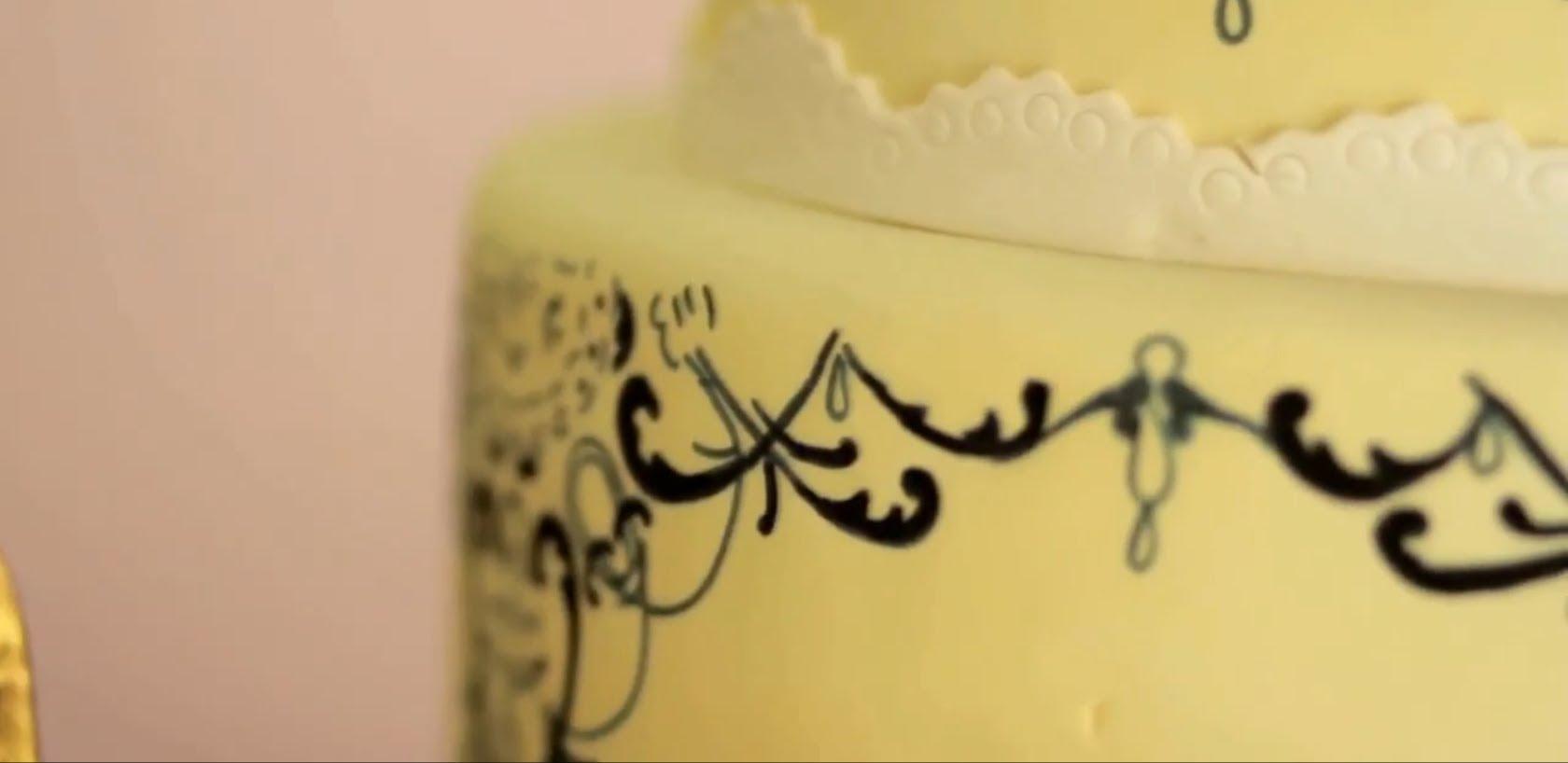 Как се прави украса на торти