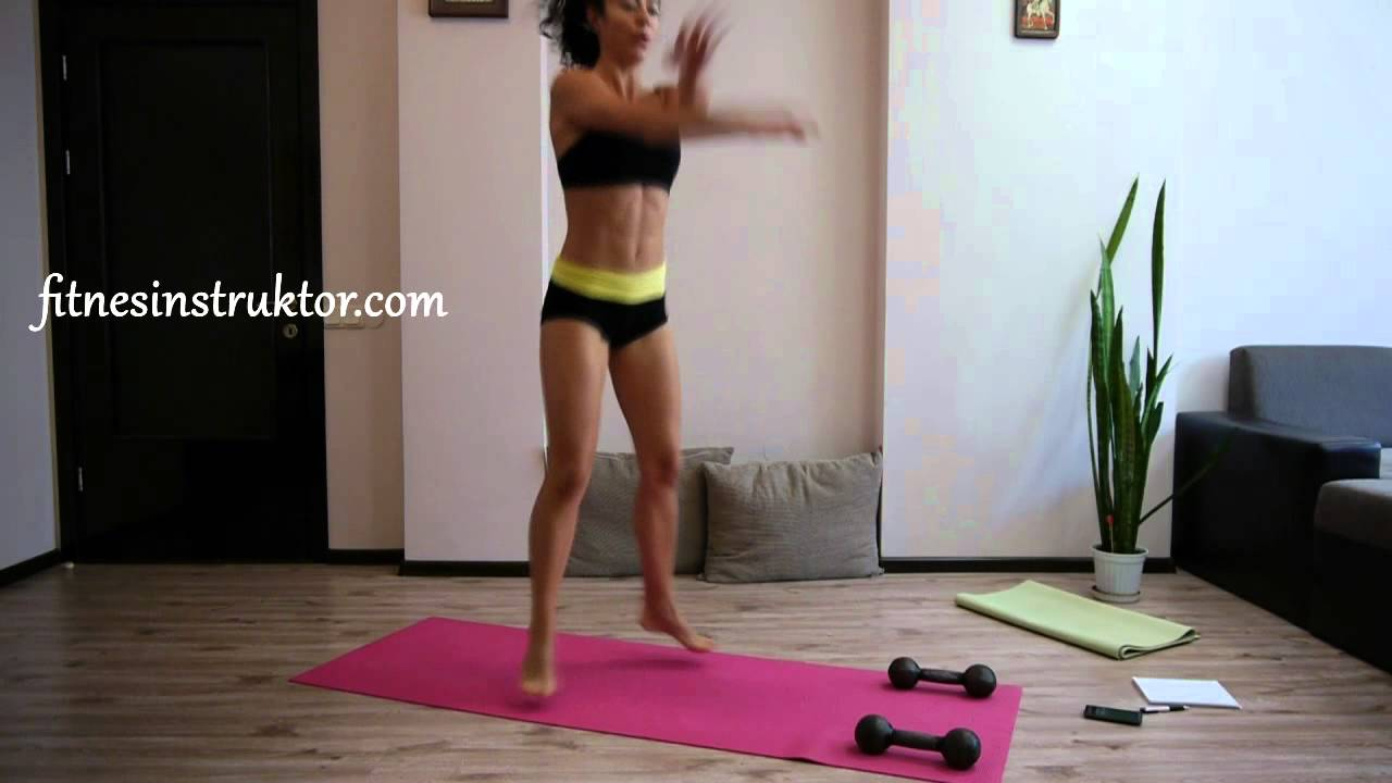 Упражнения за бедра и корем за жени