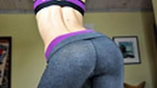 Крадко упражнение за отслабване за жени