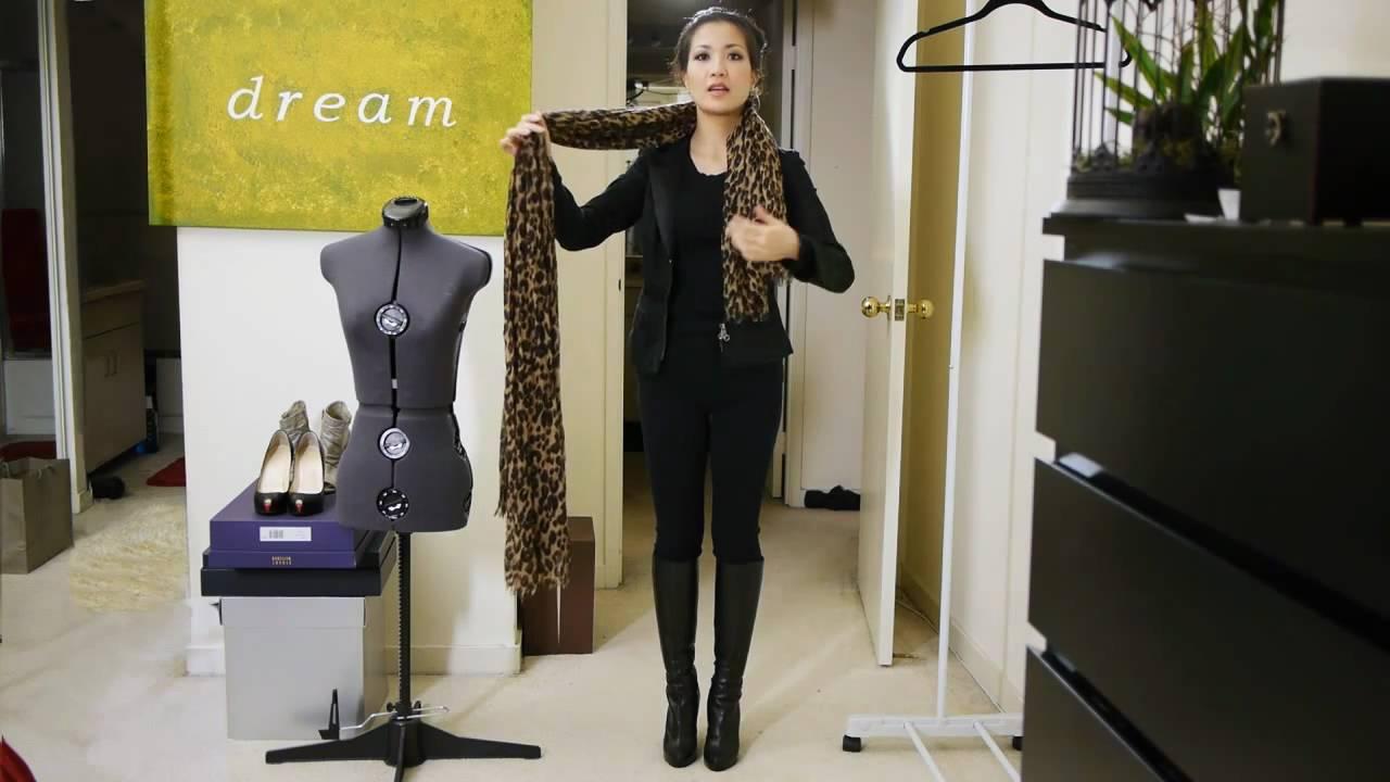 25 начина да се носи шал - 2 част Видео