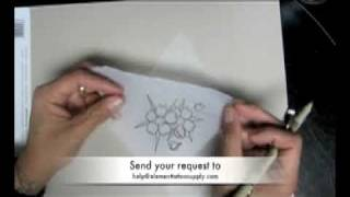 Как се рисува татуировка черешов цвят