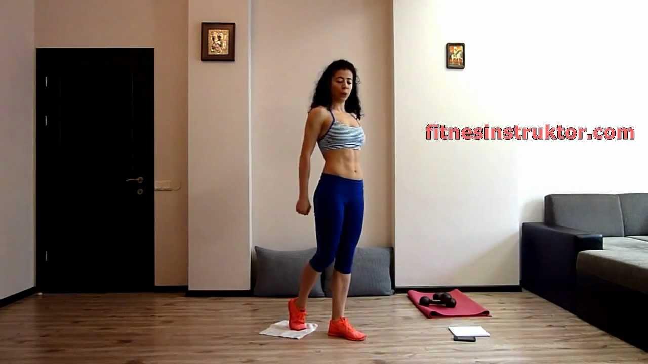 Упражнения за бедра за жени от вкъщи